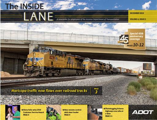 Photo of  The Inside Lane  Cover December 2019