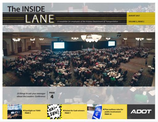 The Inside Lane - August 2017