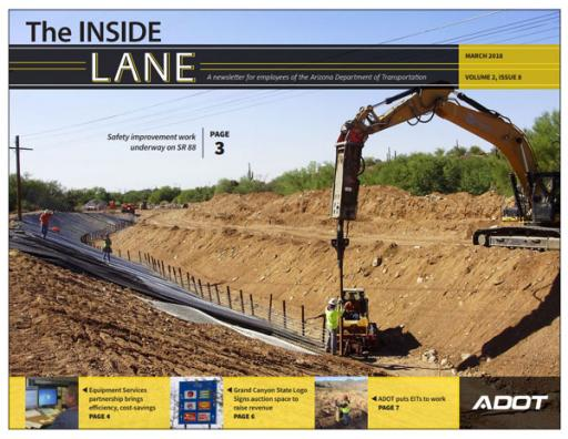 The Inside Lane (cover) - March 2018
