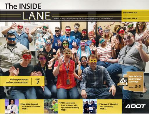 The Inside Lane - September 2019 cover