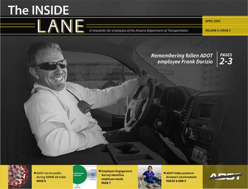Photo of The Inside Lane April 2020 cover