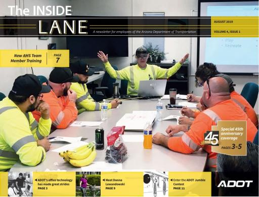 The Inside Lane - August 2019 cover
