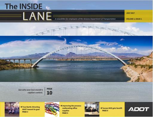 The Inside Lane - July 2017 cover