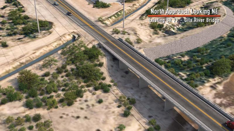 Existing SR 79 - Gila River Bridge