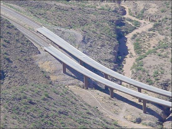US 93 - Kaiser Bridge - Aerial View 1