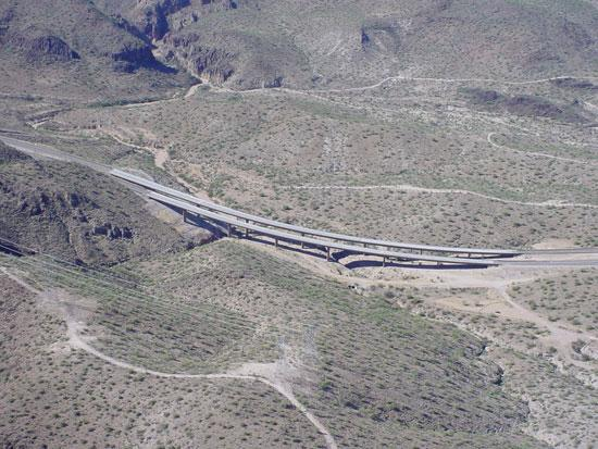 US 93 - Kaiser Bridge - Aerial View 2