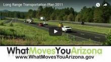 Cars and trucks on divided highway - What Moves You Arizona