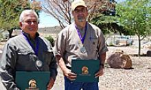 ADOT Employees after receiving awards for going above and beyond