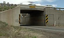 Munds Park underpass at I-17, aged 53 years