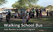 Walking School Bus - Safe Routes to School Program