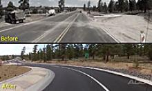 SR 64 improvements before and after