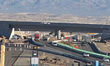 New fly-over bridge over I17 to SR 69.