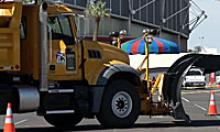 Snowplow at the Safety Partnering Roadeo