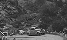 Archive photo (1941) car at Fish Creek Canyon on the Apache Trail.