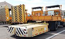 Truck-mounted attenuators