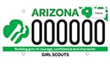 New specialty license plate