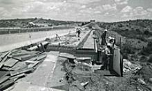 Work on I-17 in 1980