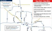 Memorial Day Weekend Closure Map