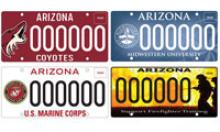 Sample specialty plates