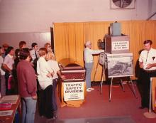 Traffic Safety Division Display at the 1970 State Fair