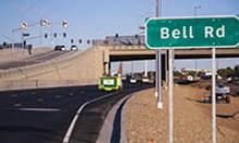 Bell Road and Grand Ave (US 60) overpass ramp