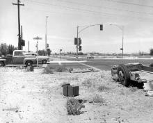 Black Canyon Highway and Thomas Road in 1960