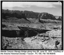 Marble Canyon 1931
