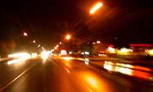 Lights when driving at night