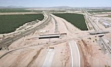 Drone view of I-10 / SR 87