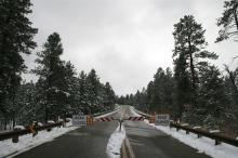 SR 67 closed during winter