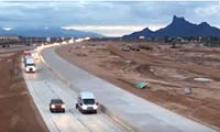 New westbound lanes of I-10 open near Eloy.