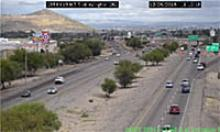 View of traffic from new high definition camera.