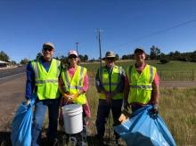Adopt a Highway National Cleanup Day 11