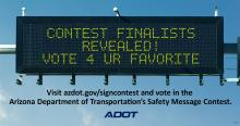 2020 ADOT Message Contest Voting Graphic