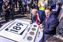 Governor Ducey at State Route 189 groundbreaking