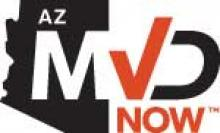 AZ MVD Now Trademark Logo
