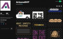 ADOT's Giphy site