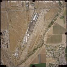 Aerial view - Glendale Municipal Airport