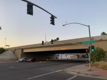 Interstate 17 bridge at Central Avenue in Phoenix