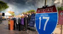 I-17 widening press conference