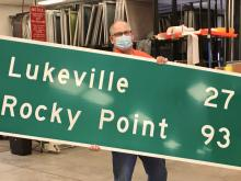For Tom Erickson, it's all in the signs!