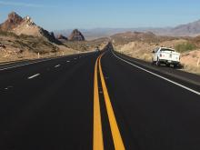 State Route 95 in western Arizona