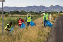 Trash slayers for Adopt a Highway