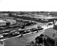 US 80 and US 95 intersection 1972