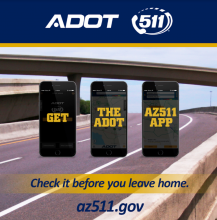 Check the AZ511 App before you leave home