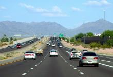 Cars on US 60