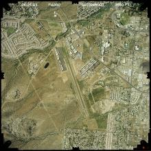 Aerial View - Cottonwood Airport