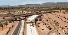 Westbound I-10 Project Construction - May 2011