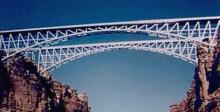 The new Navajo Bridge stands right alongside the historic one.