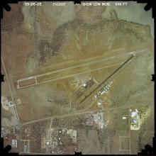 Aerial View: Show Low Regional Airport